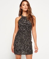 Superdry Sequin Luxe Body Con Dress