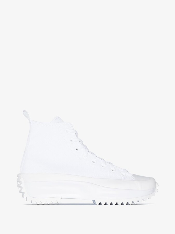 Thumbnail for your product : Converse White Run Star Hike High Top Sneakers