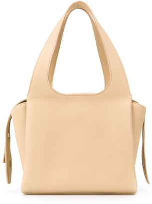 The Row TR1 top handle tote bag