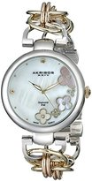 "Akribos XXIV Women's AK645TRI ""Lady"" Diamond-Accented Watch"