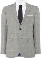 Original Penguin Men's Prince of Wales slim fit suit