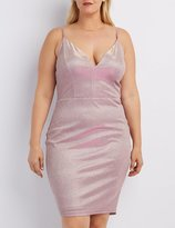 Charlotte Russe Plus Size Shimmer Bodycon Dress