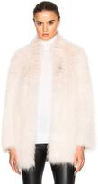 Yves Salomon Asiatic Racoon Jersey Jacket