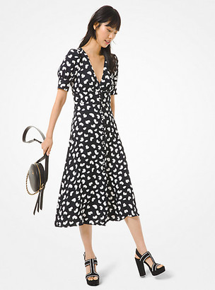 Michael Kors Petal Viscose Dress