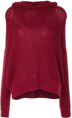 IRO Hooded Knit Jumper