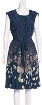 Rachel Roy Embellished A-Line Dress