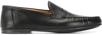 Bally Rubber-Sole Penny Strap Loafers