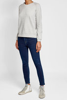 Zoe Karssen Distressed Cotton Sweatshirt