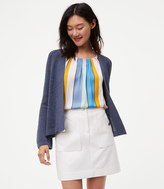 LOFT Bell Sleeve Open Cardigan