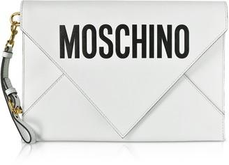 Moschino Flat Signature Envelope Clutch