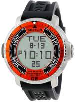 Sector Men's R3251967001 Stainless Steel Diving Watch with Resin Band