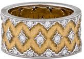 Buccellati Two-Tone Diamond Ring