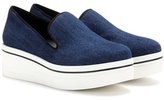 Stella McCartney Binx denim platform slip-on sneakers
