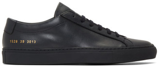 Common Projects Navy Original Achilles Low Sneakers