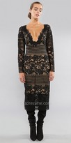 Julian Chang Priya Lace Midi Dress