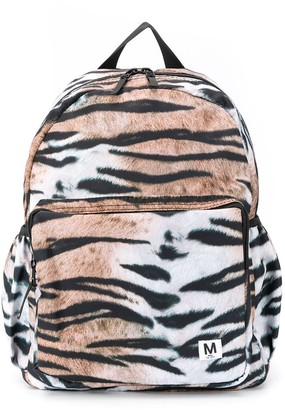 Molo Tiger Print Backpack