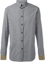 Givenchy gingham check shirt