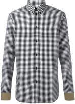 Givenchy gingham check shirt