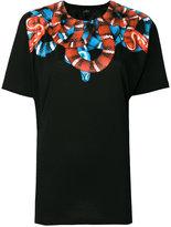 Marcelo Burlon County of Milan Banmek poncho T-shirt