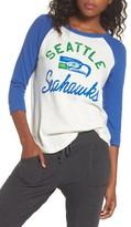 Junk Food Clothing Women's Nfl Seattle Seahawks Raglan Tee