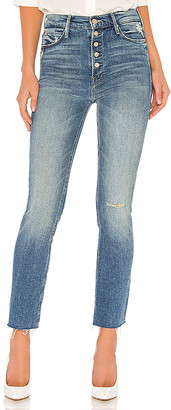 Mother The Pixie Dazzler Ankle Fray. - size 29 (also