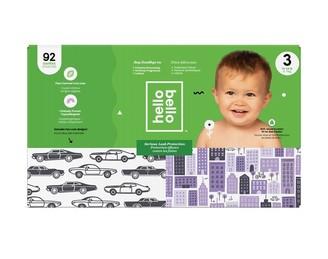 hello bello Club Diaper - Cars / City - Size 3