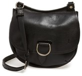 Frye 'Amy' Leather Crossbody Bag - Black