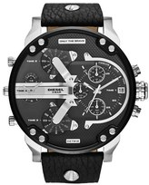 Diesel 'Mr. Daddy 2.0' Chronograph Leather Strap Watch, 57mm