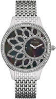 Wittnauer Crystal Womens Black Bracelet Watch