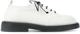 Marsèll tapered heel derby shoes
