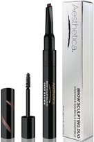 Aesthetica Cosmetics Aesthetica Brow Sculpting Duo - Double Ended Eyebrow Definer with Brow Gel - Smear Proof Formula - Vegan & Cruelty Free