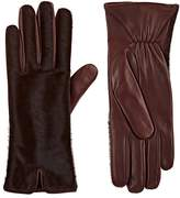 Barneys New York Women's Calf Hair & Leather Gloves