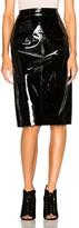 Lanvin Patent Leather Skirt