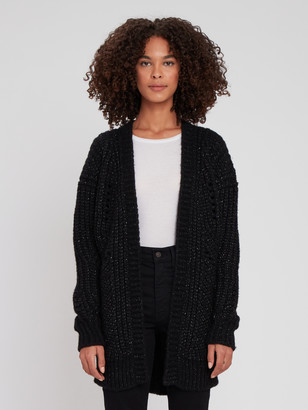 IRO Vesna Chunky Knit Cardigan Sweater