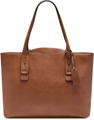 Sole Society Beryl Faux Leather Tote