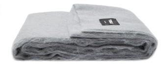 Tekla - X John Pawson Mohair-blend Blanket - Grey