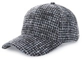 BP Women's Tweed Baseball Cap - Black