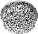 Camilla And Marc TITANIALUX UK CZ381/6CH Crystal Polished Nickel G9 Chandelier, 40 W, 45 x 45 x 30 cm