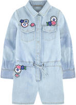 Ermanno Scervino Shortall with embroidered flowers