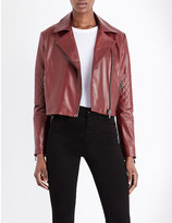 J Brand Fashion Adaire leather jacket
