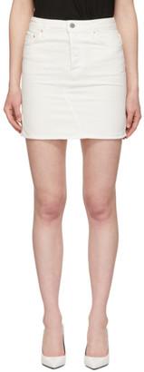 GRLFRND White Blaire Split Pencil Skirt