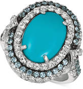 LeVian Le Vian® Multi-Gemstone Ring (5-1/2 ct. t.w.) in 14k White Gold