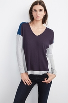Abril Waffle Knit Colorblock Top