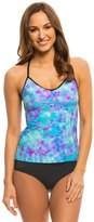 Speedo Women's Print Strappy Tankini Top 8135926