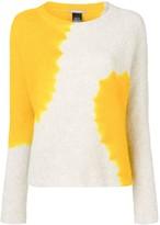 Suzusan cashmere two-tone sweater