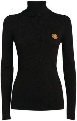Kenzo Icon Tiger Rollneck Sweater