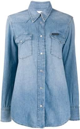 Calvin Klein denim long-sleeve shirt