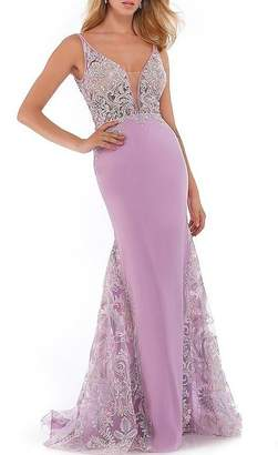 Morrell Maxie Sheer Bodice Gown