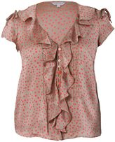 House of Fraser Chesca Spot Print Blouse