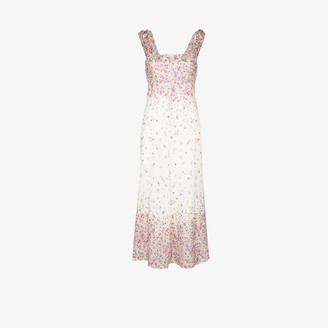Zimmermann Carnaby floral print midi dress